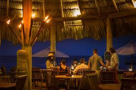 Fishbar Bars In Belize Belize Beach Bar The Laughing Fish Bar At Turtle Inn
