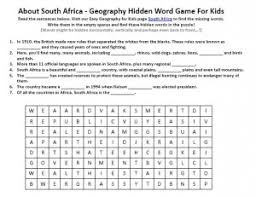 south africa worksheet science activities for kids worksheets