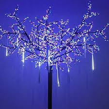 led meteor shower tube lights omgai led meteor shower rain lights waterproof drop icicle snow
