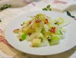insalata di sedano e mele insalata di finocchi con cavolo rapa mela verde e mela rossa