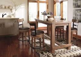harvest dining room table 5 stylish counter height table styles ashley furniture homestore