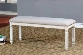 warehouse bench furniture of america kaliyah dining bench cm3194bn oc