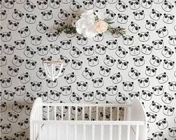 panda wallpaper etsy