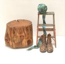 tree stump coffee table bukit
