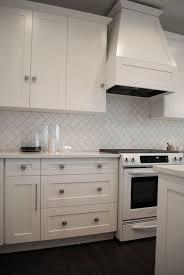 Amazing Brilliant Herringbone Subway Tile Backsplash White Subway - White subway tile backsplash ideas