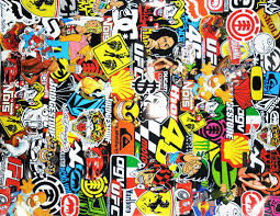 jdm sticker wallpaper images of sticker bombing stickerbombing bomb sc