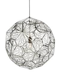 Tom Dixon Pendant Lights by Etch Web Stainless Steel Pendant Light By Tom Dixon Interior Deluxe