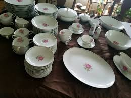 imperial china 6702 i a complete 16 pc table setting of imperial 6702