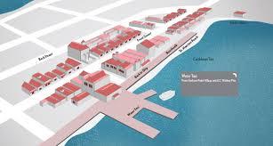St Martin Map St Maarten Port Shopping Spree