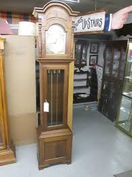Barwick Grandfather Clock 53482 Mahogany Emperor Grandfather Clock With Silent Chime