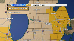 Consumers Energy Outage Map Michigan by More Than 10k In W Mi Without Power After Strong Winds Woodtv Com