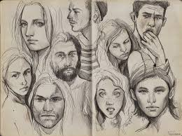 drawing sketch pencil face portrait crowd source http browse