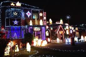 pictured greater manchester houses u0027 best christmas light displays