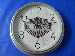 harley davidson wall decor clock 12 00 harley davidson