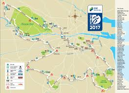 Map Of Dublin Ireland Sse Airtricty Dublin Marathon 2017 Course Start Finish Sse