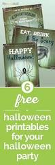 Free Printables For Halloween by 6 Free Halloween Printables For Your Halloween Party Thegoodstuff