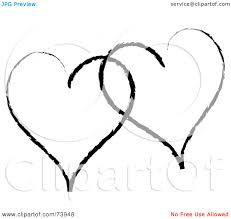 clip art heart outline clipart panda free clipart images