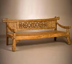 Java Bench Garden Furniture Vastu רהיטים