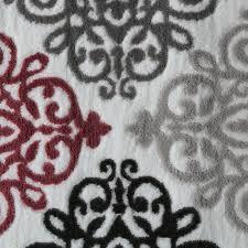 Wohnzimmer Grau Creme Designer Teppich Moderne Ornamente Wohnzimmerteppich Muster Grau