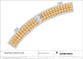plan gaur city galleria commercial shops