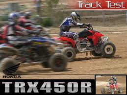 2004 honda trx450r track test motorcycle usa