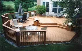 Backyard Deck Ideas Photos Backyard Ground Level Deck Plans Pdf Simple Deck Plans Small