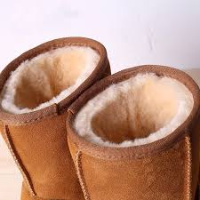 womens warm boots australia aliexpress com buy 2017 s winter cow leather boots