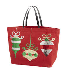 mud pie christmas ornaments christmas ornaments dazzle jute tote by mud pie