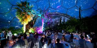 Venue For Wedding Mediterranean Biome Large Venue For Hire At Eden Project Cornwall