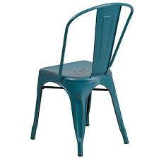 amazon com flash furniture distressed kelly blue teal metal