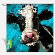 Cowhide Shower Curtain Cow Shower Curtains Cow Fabric Shower Curtain Liner