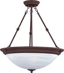 brown pendant light lighting design ideas large inverted bowl pendant light tiffany