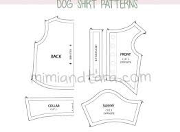 shirt pattern for dog dog clothes pattern dress the dog clothes for your pets