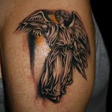 angel religious tattoo designs full tattoo