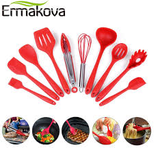 ustensile de cuisine en silicone ermakova 10 pcs ensemble ustensiles de cuisine en silicone ensemble