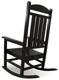 Best 25 White Rocking Chairs Amazon Com Polywood R100bl Presidential Rocker Black Rocking