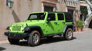 green jeep wrangler unlimited living with the 2013 jeep wrangler unlimited autoweek