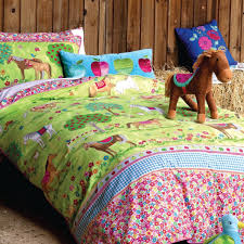 Bed Linen For Girls - girls pony horse bedroom ideas horses duvet set girls horse