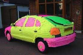 car wrapped in wrapping paper 10 april fool s pranks for car 10 steps