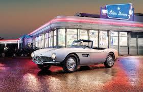 bmw 507 roadster 1957 bmw restores elvis s 1957 507 roadster back to its former