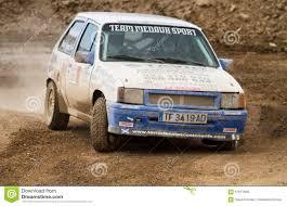 opel rally car opel corsa gsi 90 u0027s vintage rally car editorial stock photo