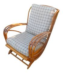 vintage heywood wakefield platform rocking chair chairish