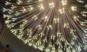 Diy Led Chandelier Design Lines Light Fair 2011 Led Chandelier Constellation
