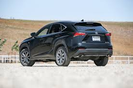 lexus sport car for sale 2015 lexus nx 200t f sport 300h first test motor trend