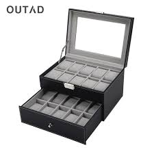 jewelry box 20 aliexpress buy outad 20 grids jewelry box watches storage