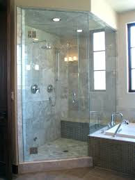 glass block bathroom ideas showers without glass shower bathroom design enclosures walk in