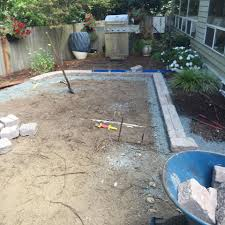 Paver Patio Installation by Roman Stack Border With 16 16 Paver Patio Install Alexander U0027s