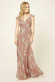 forever 21 contemporary a sleeveless woven maxi dress featuring