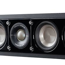 home theater center speaker slim center speaker s35 polk touch of modern