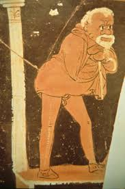 Greek Vase Design 308 Early Greek Comedy And Satyr Plays Classical Drama And Theatre